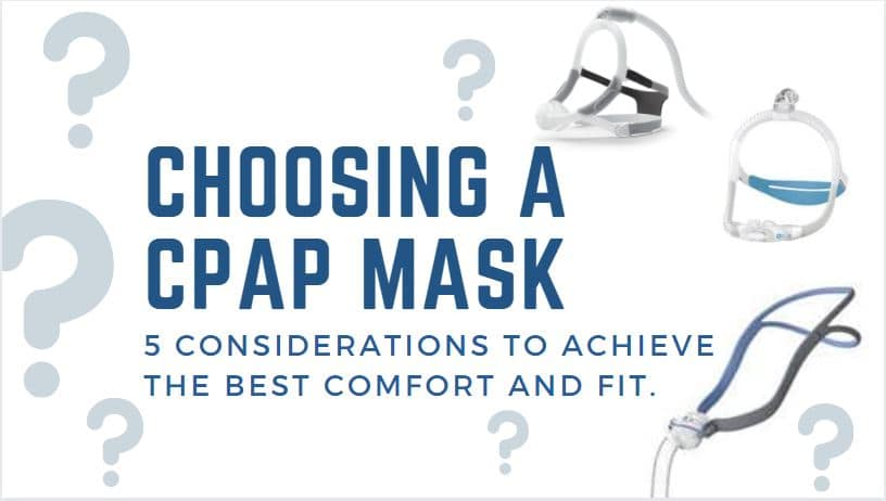 How to choose which CPAP mask is best for you!